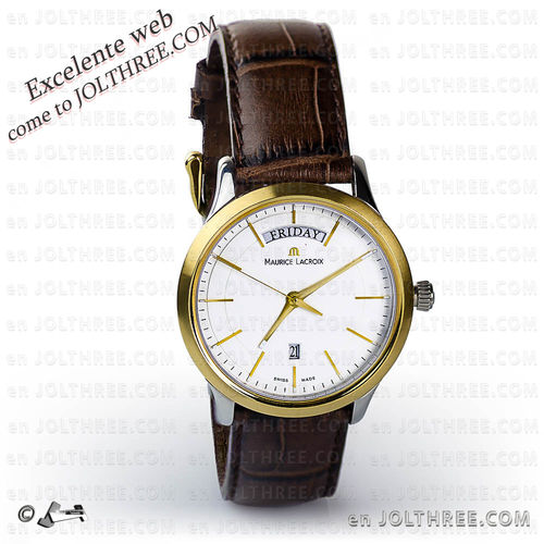 Reloj Maurice Lacroix caballero  LC1007-SS021-130