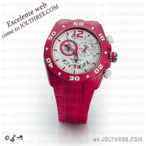 Reloj Viceroy Real Madrid 432853-75 unixes FUCSIA